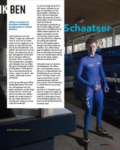 Interview in het blad Trajectum van de HU