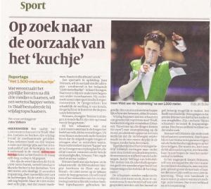 Interview Volkskrant 2010
