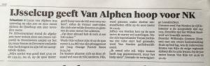 Stukje in de Gooi en Eemlander na IJsselcup/HollandCup1 2013